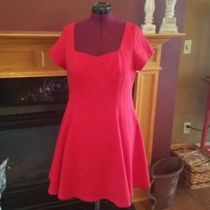 Torrid Red size 1 plus size dress